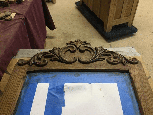 Refinish Wood Dresser Decoration