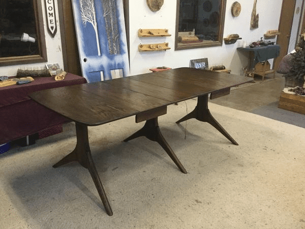Refinished Wood Dining Table