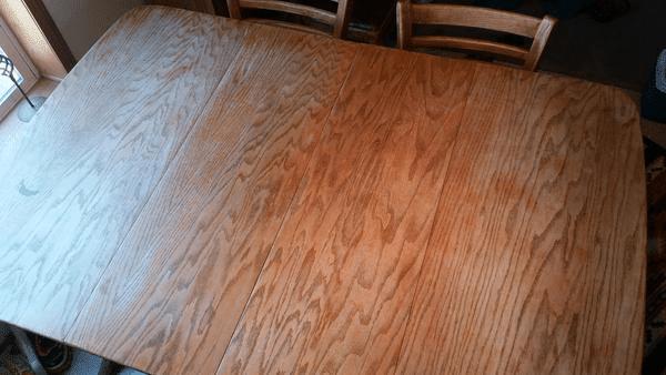 Damaged Wood Table to Refinish