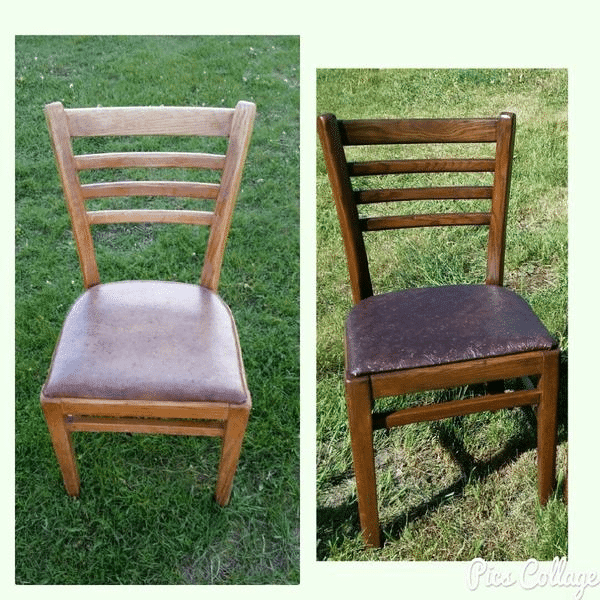 Refinished Wood Chair