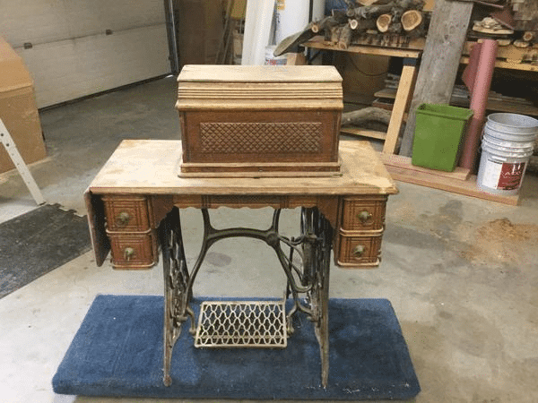 Damaged Sewing Table