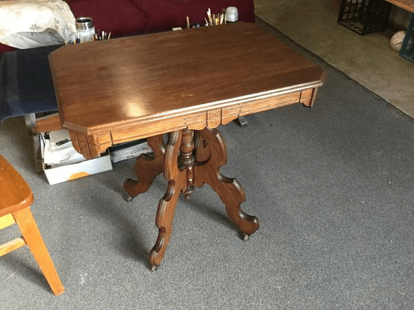 Refinished Wood Table to Refinish