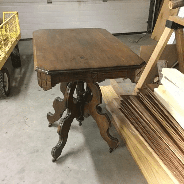 Damaged Wood Table to Refinish