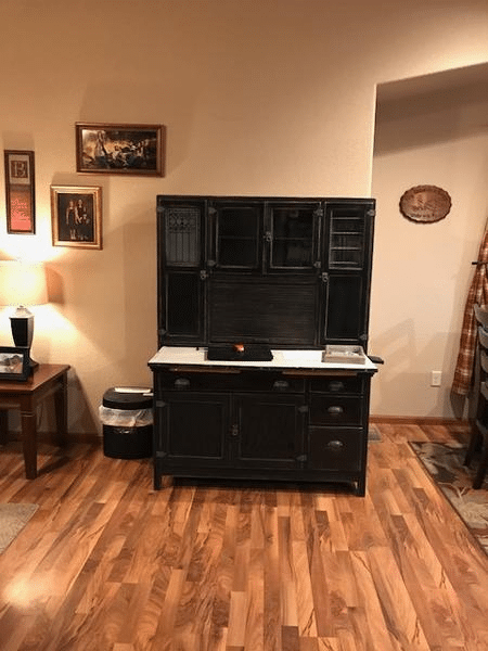 Refinished Wood Desk