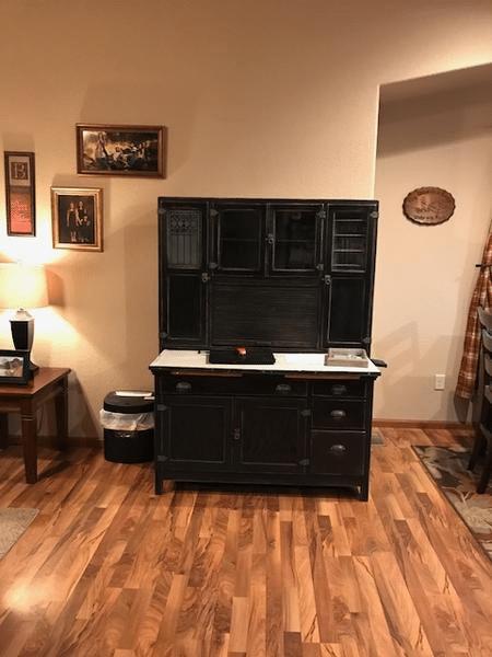 Refinished Wood Desk