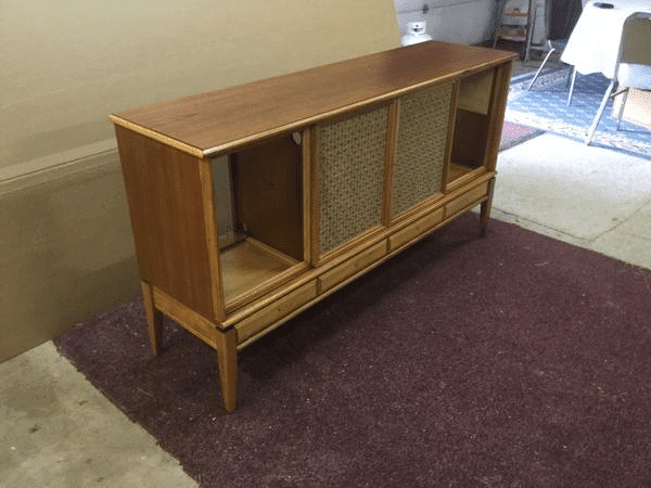 Refinished Wood Cabinet
