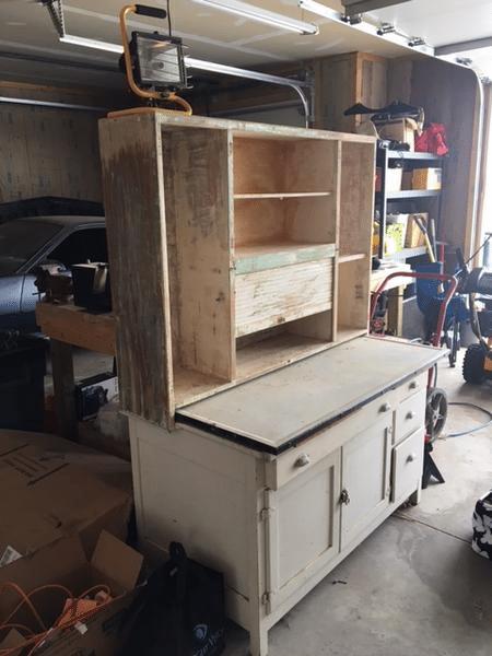 Wood Desk to Refinish
