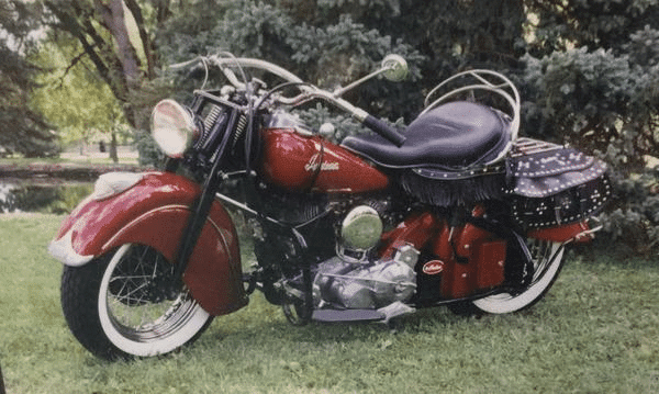 Indian Motorcycle Picture to Draw
