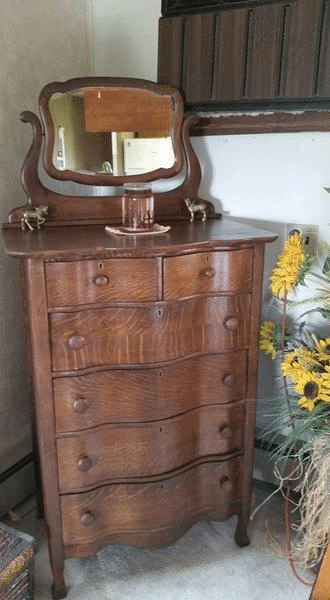 Wood Chest of Drawers Refinished