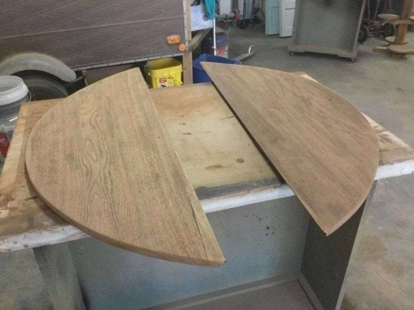 Sanded Round Table Top