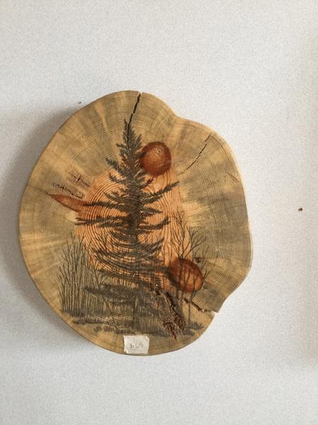 Custom Painted Tree On Wood