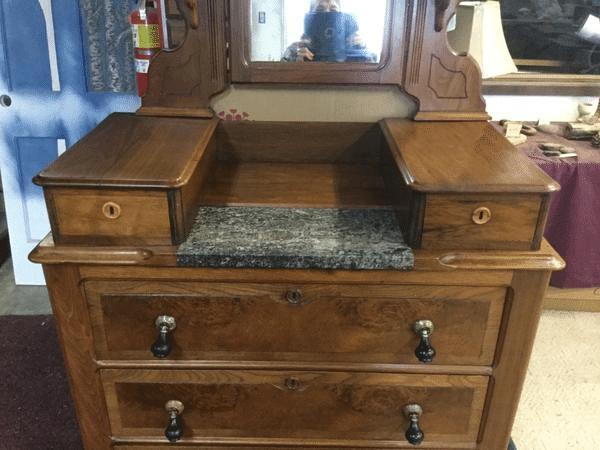 Refinished Wood Furniture Dresser